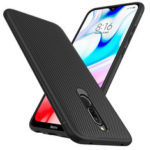 Оригинал              Для Xiaomi Redmi 8 Чехол Bakeey Текстура из углеродного волокна Тонкий Soft ТПУ Защита от падений Защита от отпечатков пальцев Чехол