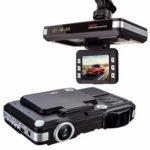 Оригинал              2in1 5MP Авто Видеорегистратор Регистратор + радар Лазер детектор скорости Trafic Alert