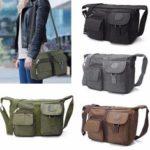 Оригинал              Мужчины Женское Повседневная сумка на плечо Nylon Сумка для путешествий через плечо