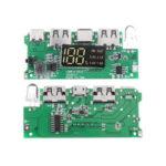 Оригинал              Dual USB 5V 2.1A Micro Type-C для DIY Power Bank 18650 Зарядное устройство с защитой от перезаряда LED от короткого замыкания