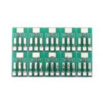 Оригинал              SOT89 / SOT223 для SIP Патч-адаптер Переходная плата SIP Шаг 2.54 мм PCB Олово Пластина