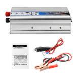 Оригинал              Инвертор солнечной энергии 1000 Вт True DC 12 В в переменный 220 В USB Модифицированный преобразователь синусоидальной волны Авто Адаптер зарядног