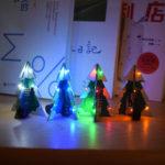 Оригинал              Geekcreit® 3D Mini SMD PCB Стерео Рождественская елка DIY Музыка Набор