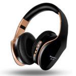 Оригинал              Bakeey SN-P18 Беспроводная Bluetooth-гарнитура Складная стерео гарнитура 3,5 мм Аудио TF карта гарнитура с микрофоном