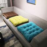 Оригинал              8 Цветов Вельвет Татами Futon Pad Плюшевые Утолщение Подушка Сиденья для Домашнего Офиса Окно Балкон Yoga