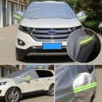 Оригинал              Автомобиль Shade Shield Лобовое стекло Анти Snow Sun Пылезащитный чехол Ice Frost Удаление зеркала Протектор