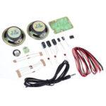 Оригинал              EQKIT® AMP-1 TDA2822M Модуль усиления Усилитель Power DIY Набор Электронное производство для Arduino Diy Набор Электронный модуль печатной платы