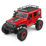 Оригинал              Wltoys 104311 1/10 2.4G 4X4 Гусеничный RC Авто Desert Mountain Rock Модели автомобилей с двумя двигателями LED Головной свет