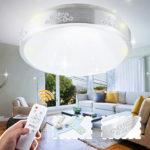 Оригинал              220V 24W 48W Super Bright Pro с возможностью затемнения LED Круглый потолочный светильник Лампа