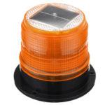 Оригинал              12 В Круглая Крыша LED солнечный Магнитный Маяк Свет Строб Аварийного Предупреждения Желтый IP65 Водонепроницаемы