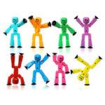 Оригинал              Stiikbot Творческая Фигурка Фотостудия Набор Детский Кукла Подарочное Украшение