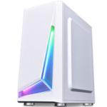 Оригинал              Coolmoon M-ATX MINI-ITX SPCC Компьютер Чехол USB3.0 ATX Power Gaming Настольный компьютер Чехол RGB-корпус