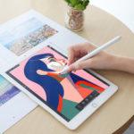 Оригинал              HOCO Active Емкостный сенсорный экран Stylus Ручка Специально разработан для iPad 9,7 дюймов 2018/Pro 11 дюймов 2018/Pro 12,9 дюймов 2018 / Mini 5 2019 / Air 3 10,5 дюймов 2019 /