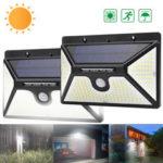 Оригинал              ARILUX 218 LED Солнечная Мощность PIR Motion Датчик Настенный светильник На открытом воздухе Сад Свет Водонепроницаемы