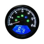 Оригинал              12000RPM Водонепроницаемы LCD Цифровой мотоцикл Спидометр одометр Тахометр MPH / KMH Универсальный