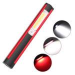 Оригинал              XANES WL03 Рабочий свет 1SMD + 16COB + 8LED Красный свет 4 режима USB аккумуляторная На открытом воздухе Многофункциональный фонарь Аварийное освещение