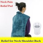 Оригинал              Удлиненная рельефная жара Массаж Обертывание мышц Шея Терапия боли в плече Моющаяся