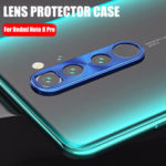 Оригинал              Bakeey Металл Круглое против царапин Телефон камера Объектив Протектор для Xiaomi Redmi Note 8 Pro