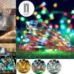 Оригинал              10 М 100 LED Строка Свет USB Фея Ночные Лампы Праздник Рождество Декор + Дистанционное Управление