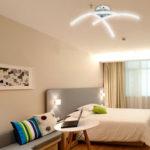 Оригинал              Современный LED 3 Свет Потолочный Атлас Никель Кухня Гостиная Спальня Лампа A85-265V