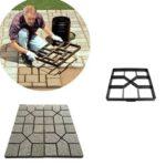 Оригинал              Сад DIY Path Maker Модель Бетонная Ступенька Тротуарная Брусчатка Тротуарная Брусчатка Прессформы Инструмент