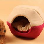 Оригинал              Cat Собака Кровать Pet Mat House Складная Soft Теплый Щенок Пещера Зима Спальный Коврик