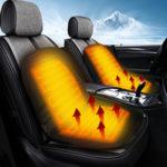Оригинал              Универсальный 12V Электрический Авто Обогрев переднего сиденья Мягкая термоподушка