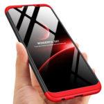 Оригинал              Для Xiaomi Redmi Note 8T Чехол Bakeey Двойной Dip 360 ° Hard PC Полный Чехол Противоударный Защитный Чехол