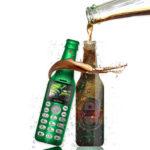 Оригинал              SERVO V8 Fashion Bottle Phone 2.0 дюймов Bluetooth-гарнитура 300 мАч HD Волшебный Voice One Диктофон Dula SIM-карта Двойной резервный мини-телефон с картой