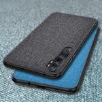 Оригинал              Bakeey Luxury Хлопок Ткань Противоударный Защитный Чехол для Xiaomi Mi Note 10 / Xiaomi Mi Note 10 Pro / Xiaomi Mi CC9 Pro