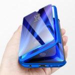 Оригинал              ДляXiaomiMiA3/Xiaomi Mi CC9E Bakeey Передняя панель корпуса с матовым покрытием на 360 °, защитная крышка Чехол с защитой из закаленного стекла