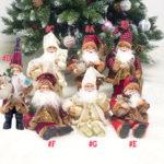 Оригинал              Рождество Санта Кукла Рождественская Фигурка Орнамент Подарки Украшения Игрушки