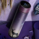Оригинал              KCASA CS04-450 450 мл Умная кружка Термальная бутылка для воды из нержавеющей стали с температурой сенсорного экрана LCD Дисплей Вакуумная чашка