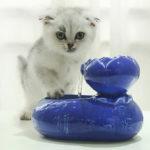 Оригинал              Керамическая Кот Собака Pet Автоматическая циркуляция воды Диспенсер для фонтана бассейна чаша для напитков