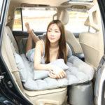 Оригинал              Автомобильный надувной матрас заднее сиденье надувная кровать кровать путешествия стекаются с подушкой Насос хранения Сумка