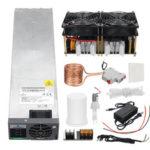 Оригинал              2500 Вт ZVS Нагреватель Модуль платы индукционного нагрева + источник питания постоянного тока 48 В 3000 Вт