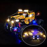 Оригинал              Светодиодное освещение Набор ТОЛЬКО для LEGO Technic 42099 4×4 X-Treme Off-Roader Toys