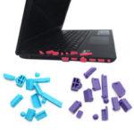 Оригинал              13 ШТ. Набор Универсальный Портативный Пылевой Разъем Ноутбука Ноутбук Силиконовый Компьютер USB VGA SD HDMI Порты Пыленепроницаемая Резиновая К