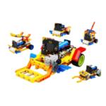 Оригинал              Yahboom Running: бит 5 в 1 STEAM Образовательный программируемый интеллектуальный робот Авто Кирпичи на основе Micro: бит Совместимо с LEGO