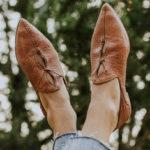 Оригинал              Женщины Большой размер Выдалбливают Удобные остроконечные балетки на плоской подошве