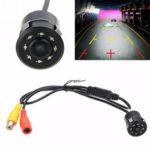 Оригинал              170 ° CMOS Авто Резервное копирование заднего вида камера Реверс 8 LED Ночное видение Водонепроницаемы