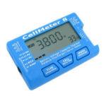 Оригинал              AOK CellMeter 8 Многофункциональный цифровой Батарея Емкость Сервопривод Checker Tester 2S-8S 4шт