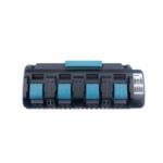 Оригинал              18V DC18SF 3A 4-портовый Li-Ion Батарея зарядное устройство для Makita 14.4V-18V BL1830 BL1840 BL1850 BL1860 BL1430 BL1440 BL1450 BL1460