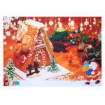 Оригинал              5x3FT 7x5FT Рождество Санта Подарочная елка Фотография Фон Фон Студия Опора