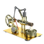 Оригинал              Мини Горячий Воздух Стирлинга Двигатель Модель Генератора Мотор Физики Образовательных Наук Игрушки