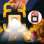 Оригинал              Портативный Солнечная / USB Зарядка УДАРА LED Рабочий Свет Аккумуляторная Аварийного Наводнения Кемпинг Лампа