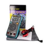 Оригинал              ZT101 Цифровой Мультиметр Подсветка AC / DC Амперметр 6000 отсчетов AC / DC Амперметр Вольтметр Ом Портативный измеритель напряжения метр