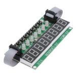 Оригинал              TM1638 LED Модуль 8-значный 8-кнопочный переключатель 8-битный цифровой LED Трубка Может быть в каскадном режиме