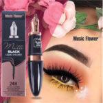 Оригинал              Music Flower Водонепроницаемы Подводка для глаз Ручка Shape Макияж Cosmetic E