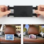 Оригинал              Универсальный Авто задний подголовник спинки сиденья для планшета Держатель телефона на 360 ° Вращение для 4.7-12.9 дюймов Smart Phone Tablet